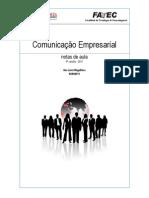 Apostila Comunicação Empresarial - versão abril 2011