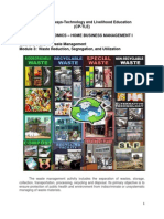 HE1 HMBQ3&Q4 Waste Management