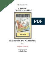 Monteiro Lobato - Vol 1 - Reinações de Narizinho