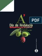 Programa Día de Andalucia en L'Hospitalet 2014