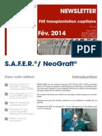 FR - Newsletter N°1 Janvier - Février - Mars 2014