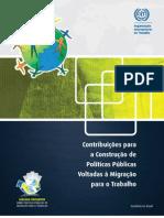 Contribuições para a Construção de Políticas voltadas à migração para o trabalho