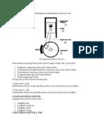 Prinsip Kerja Motor Bensin 4 Tak Dan 2 Tak
