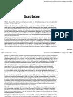 Le Kant à soi de Gérard Lebrun - Libération.pdf