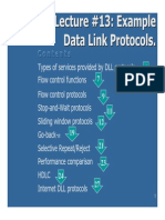 13. Example Data Link Protocols-New