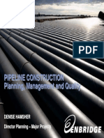 Pipeline Contruction
