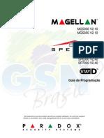 Manual de instruções - alarme Magellan MG e Spectra SP Paradox