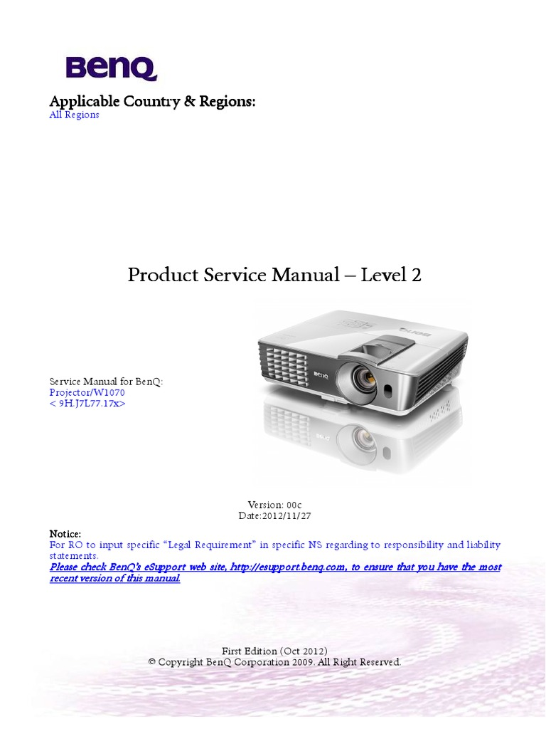benq wiring diagram repair manual Schematic Diagram