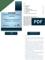 Informe Macroeconómico N 28