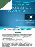 Amplificadores Con Transistores de Efecto de Campo (