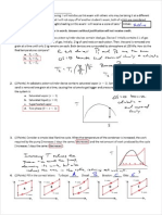 Practice Final Conceptual Solution