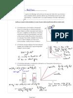 Exam 1 Practice Solution