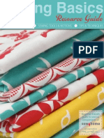 0963-Sewing Basics Resource Guide