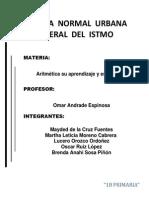 Aritmetica y su aprendizaje.docx