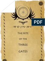 The Rite of the Three Gates