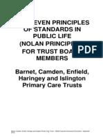 The Seven Standards of Public Life _Nolan Principles