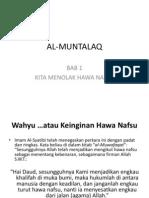 Al-muntalaq (Bab 1)