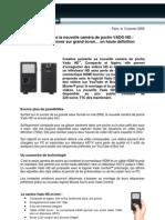 Creative Vado HD Press Release