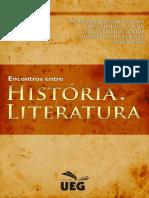 Encontros entre literatura e História