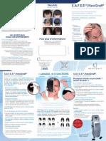 FR - Leaflet technique de transplantation capillaire S.A.F.E.R.®/NeoGraft®