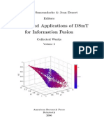 Advances and Applications of DSmT Information Fusion