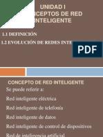 Unidad i Redes Inteligentes