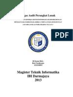 Tugas Audit Perangkat Lunak 1221210015