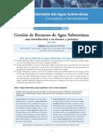 GWM_Briefing_1_gestion de Recursos de Agua Subterranea