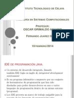 IDE de programación Java