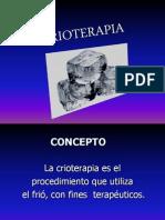 Clase 3 Crioterapia
