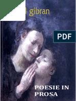 71524373 Kahlil Gibran Poesie in Prosa