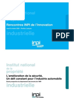 INPI Etude Automobile Securite