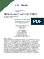 Parintele Cleopa - PREDICA A DOUA LA SFÂNTA TREIME