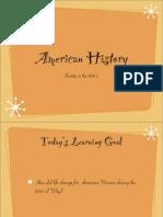 American History Unit:7