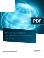 Tecnologias Para Las Telecomunicaciones Del Futuro