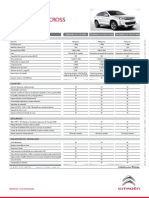 Ficha Técnica Citroën C4 Aircross