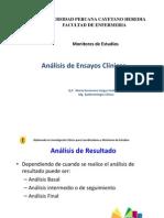 Analisis de Ensayos Clinicos