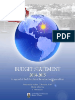 Bermuda 2014 Budget