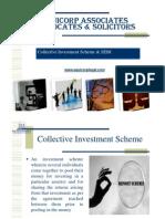 Collective Investment Scheme & SEBI