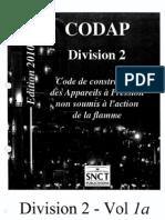 CODAP 2010 Div 2 1-96 G Generalite