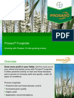 2014 Prosaro Fungicide for Cereals - Product Overview