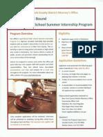 Legal Bound High School Summer Internship