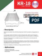 Ficha Tecnica KR-18.pdf