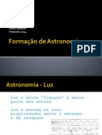 Formação de Astronomia
