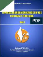 Topicos Iberoamericanos en Voz Cantada y Hablada