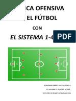 Fútbol Táctica ofensiva 4-3-3