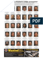 Most Wanted Property Crime Offenders, Feb. 2014