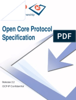 Open Core Protocol Specification 2.2