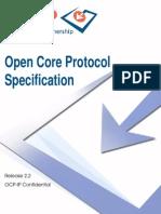 Open Core Protocol Specification 2.2
