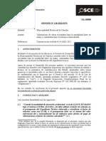 118-12-PRE-Municipalidad Provincial de Canchis - Factor de Relacion[VF]